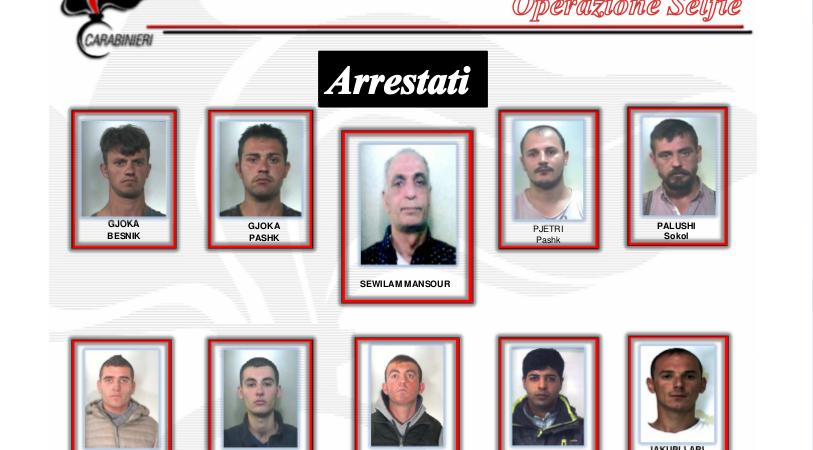 Almno 114 furti in abitazioni, in manette 20 albanesi