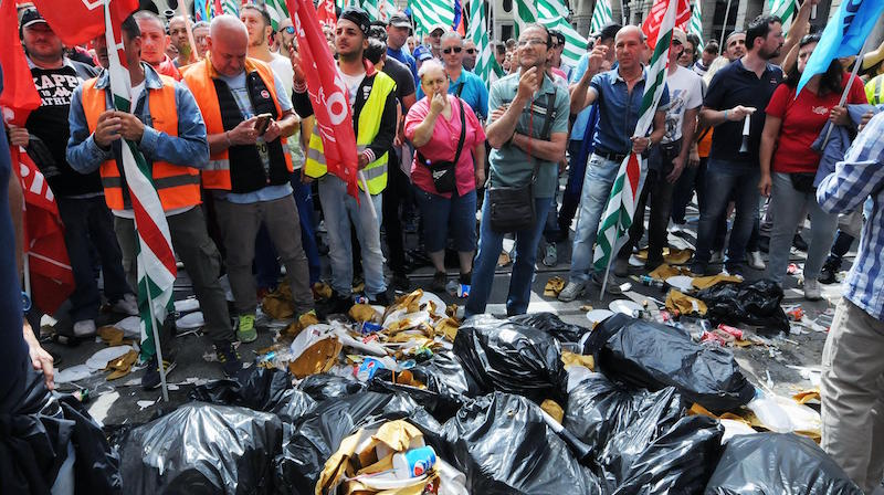 Slitta di due giorni lo sciopero degli operatori ecologici