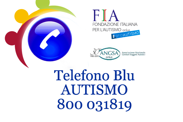 Autismo, telefono blu per aiutare le famiglie