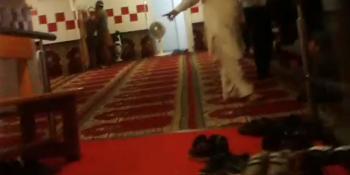 interno Moschea abusiva via Calcinari Rovereto