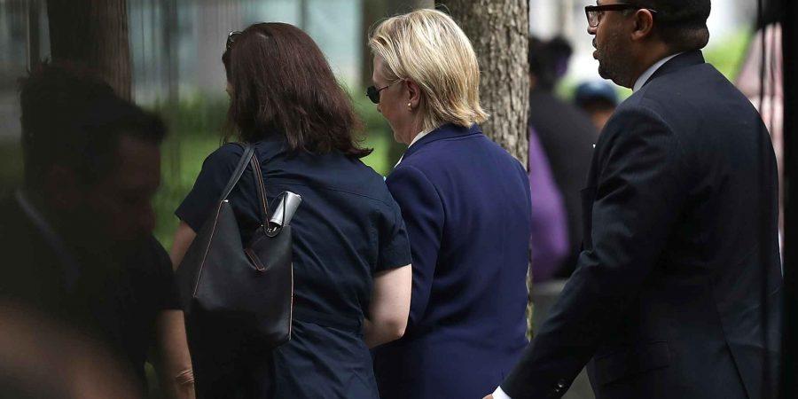 Hilary Clinton, malore durante la cerimonia dell'11 settembre