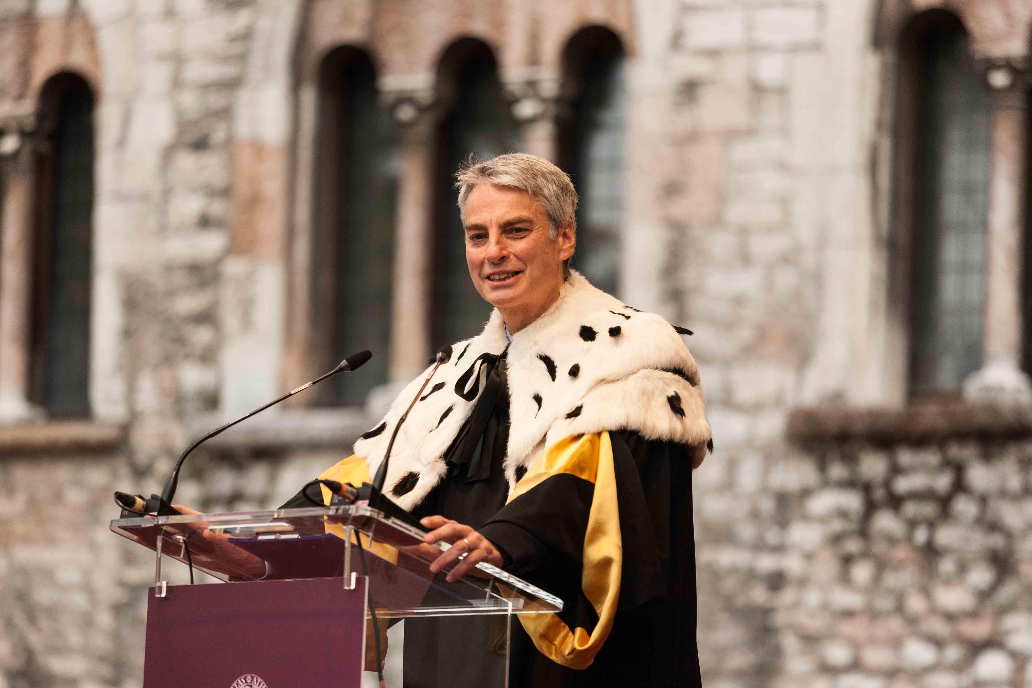 Cerimonia delle lauree Ottobre Università Trento