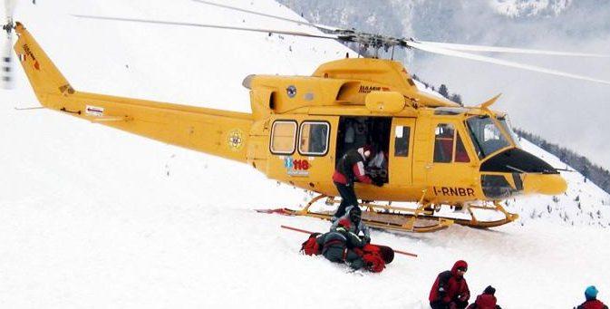 Brenta, trentino morto sotto una valanga Prato Fiorito, salvo l'altro escursionista