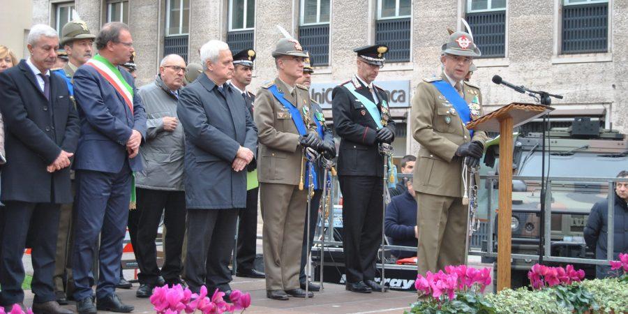 Giornata forze armate e Unità nazionale: le celebrazioni a Brindisi