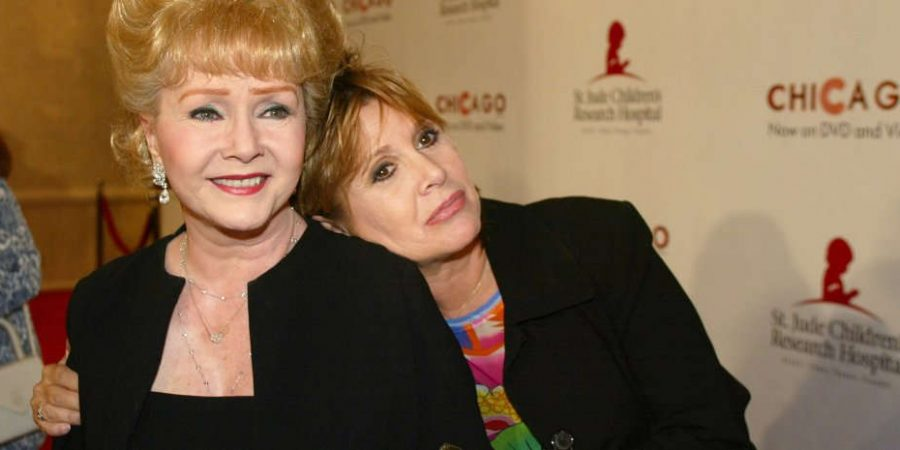 Addio a Debbie Reynolds, la mamma di Carrie Fisher