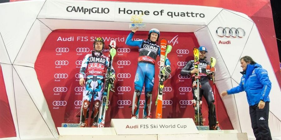 Sci: Gross 3/o in slalom Campiglio, vince Kristoffersen