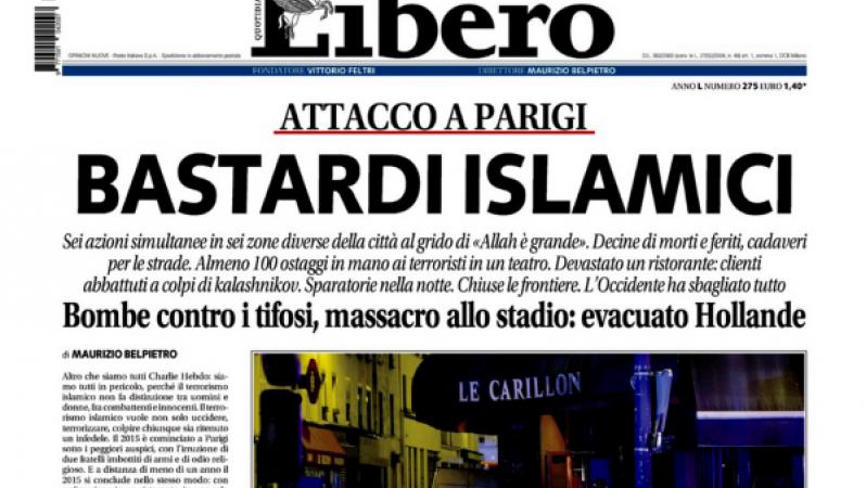 Giornalisti: Belpietro assolto per titolo su terroristi islamici