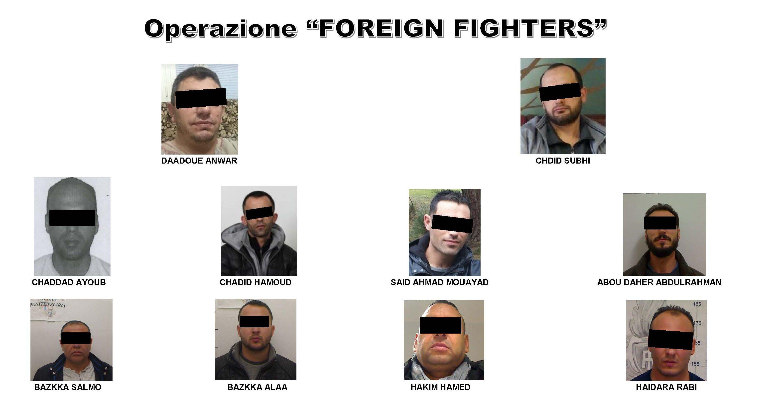 Terrorismo: supporto a formazioni jihadiste, 14 provvedimenti d'arresto
