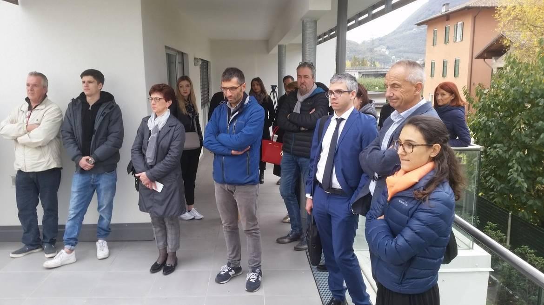 Trento social housing consegnati gli alloggi in legno di for Arredo bagno trento via maccani