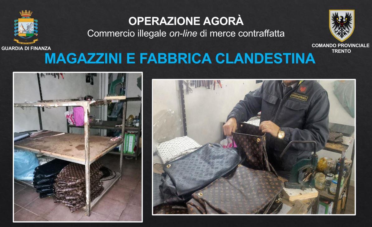 29fc6c5a5c Il gruppo criminale operava a Napoli, dove disponeva di vari appartamenti e  locali, usati per la fabbricazione, deposito e vendita della merce  contraffatta, ...