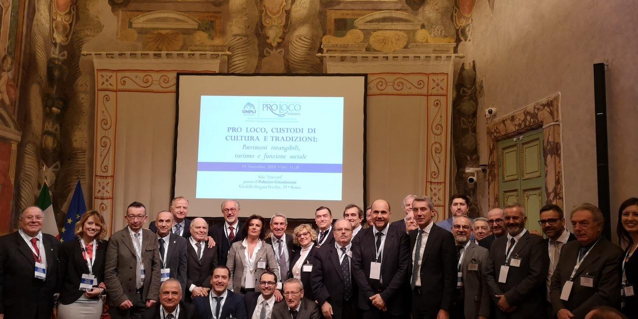 """Le Pro Loco trentine in Senato per il convegno """"Pro Loco"""