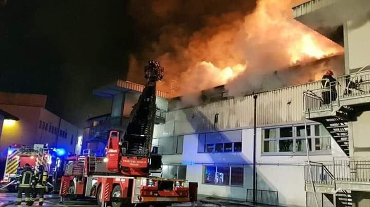 Incendio via maccani procedura d 39 urgenza con itea per for Arredo bagno trento via maccani