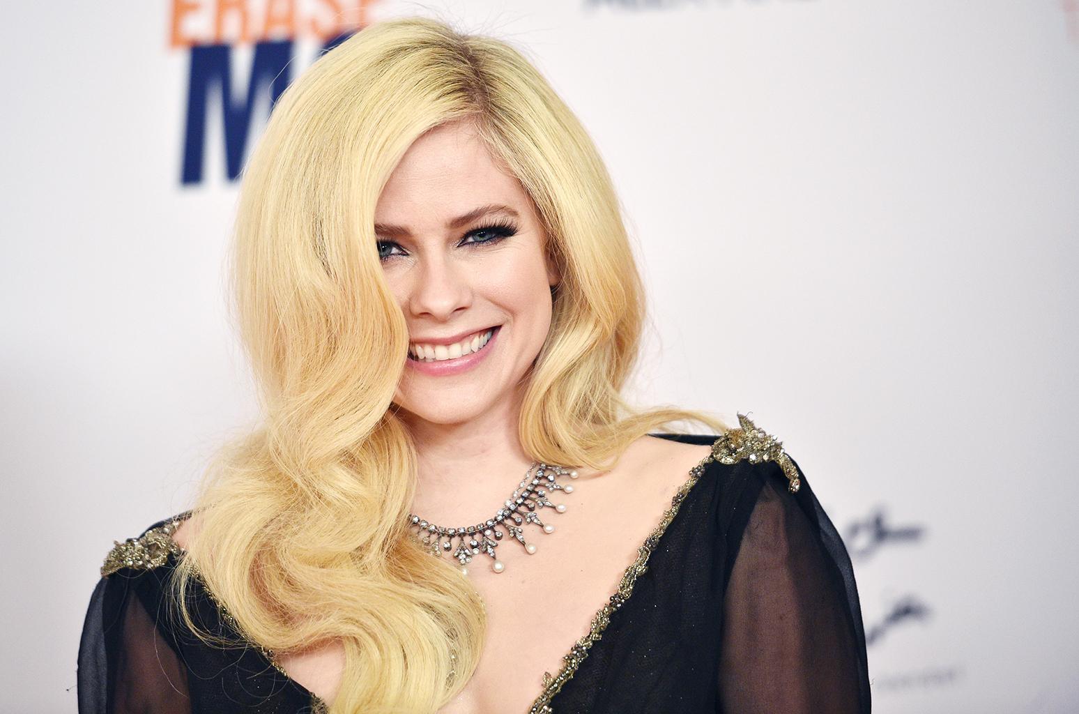 La cantante Avril Lavigne tornerà in Italia