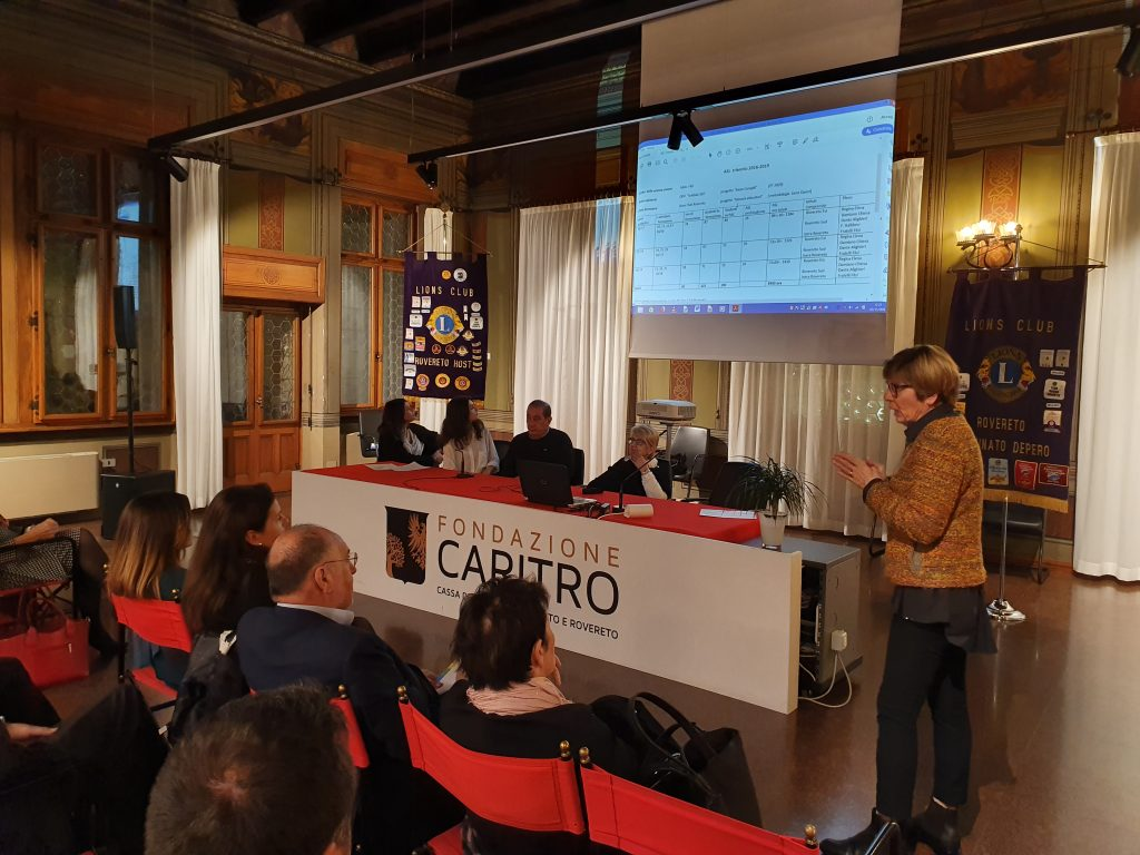 I tre Lions Club di Rovereto e il Service Learning - la VOCE del TRENTINO