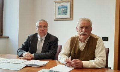 Il Dr. Fabrizio Paternoster e il Commissario Giorgio De Concini