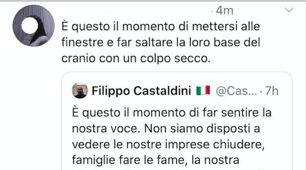 Quella Sinistra Che Odia Gli Italiani Minacce Di Morte A Castaldini E Alle Mascherine Tricolori La Voce Del Trentino