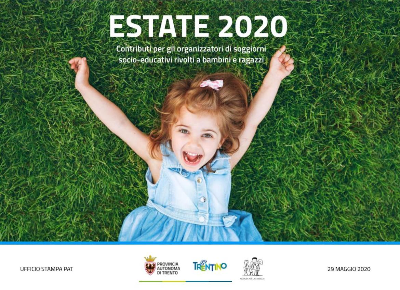 Estate 2020 Contributi Per Gli Organizzatori Di Soggiorni Socio Educativi Rivolti Ai Giovani La Voce Del Trentino