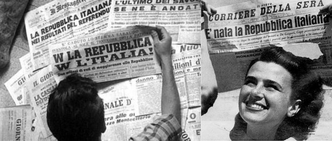 2 giugno 1946: 75 anni fa nasceva la repubblica Italiana - La voce del  Trentino